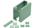 Buy Plastic Enclosure 82x45x90mm Green Polyamide IP20