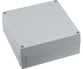 Buy Enclosure, Polycarbonate, Grey cover, Extra high base, 180 x 100 x 130 mm