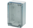 Buy Plastic Enclosure ABS 85x120x80mm Light Grey / Transparent IP66/IP67
