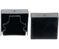 Buy Cable Trunking Edge Protection End Cap 60 mm TPE-E, Black