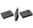 Buy Cable Trunking Edge Protection Side Cap 30 mm TPE-E, Black