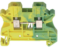 Buy Terminal block Green-Yellow 0.14...2.5 mm²