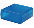 Buy Plastic Enclosure 66.23x66x27.5mm Blue ABS IP54