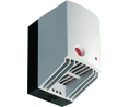 Buy Heater fan 165x100x128 mm 35 m³/h Thermostat