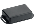 Buy Miniature Flanged Plastic Enclosure, 35 x 35 x 20 mm, ABS, Black, IP54