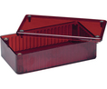 Buy Multipurpose FRPC Enclosure, 110 x 191 x 61 mm, Red, PC, IP54