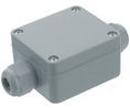 Buy Universal Enclosure 58x64x34mm Silver Grey Polyamide 6 IP65