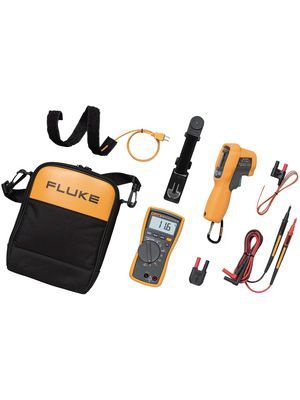 fluke 116 62max kaufen multimeter kit fluke distrelec. Black Bedroom Furniture Sets. Home Design Ideas