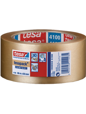 Verpackungsband Packaging tape 50 mm 65 µm PVC Transparent mmx66 m