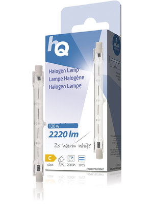 Halogenlampe R7s 230 VAC 3000 lm 2800 K VE=2 PC