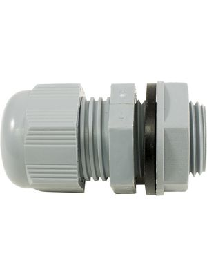 PPC7 SL Cable Gland; PG7, With Locknut; 8 mm; IP68; Slate, Unit of ...