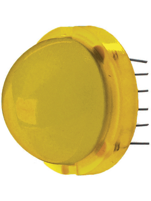 LED 20 mm gelb 120 ° 10 mA 2.1 V