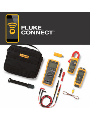 flk 3000 fc hvac multimeter kit strom temperatur fluke. Black Bedroom Furniture Sets. Home Design Ideas