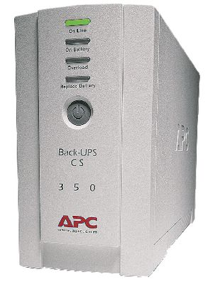 Back-UPS CS 350 VA 210 W 3-VFD Offline RS232USB Desktop