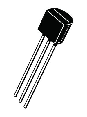 Thyristor 200 V 0.8 A 0.2 mA TO-92