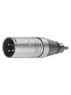 Adapter 439253;448373 XLR-Stecker 3pol auf Cinch-Stecker