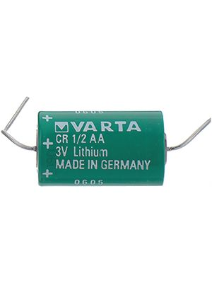 lithium batterie 3 v 950 mah 1 2aa varta microbattery cr 1 2aa cd kaufen distrelec deutschland. Black Bedroom Furniture Sets. Home Design Ideas