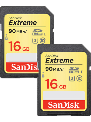 Extreme SDHC 2-pack 2x 16 GB