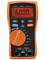 Multimeter digital TRMS AC 6600 digits 600 VAC 600 VDC 10 ADC Buy {0}